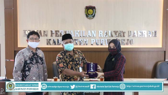 DPRD Kab.Purworejo Menerima Kunjungan Dari Komisi D DPRD Kabupaten Kebumen