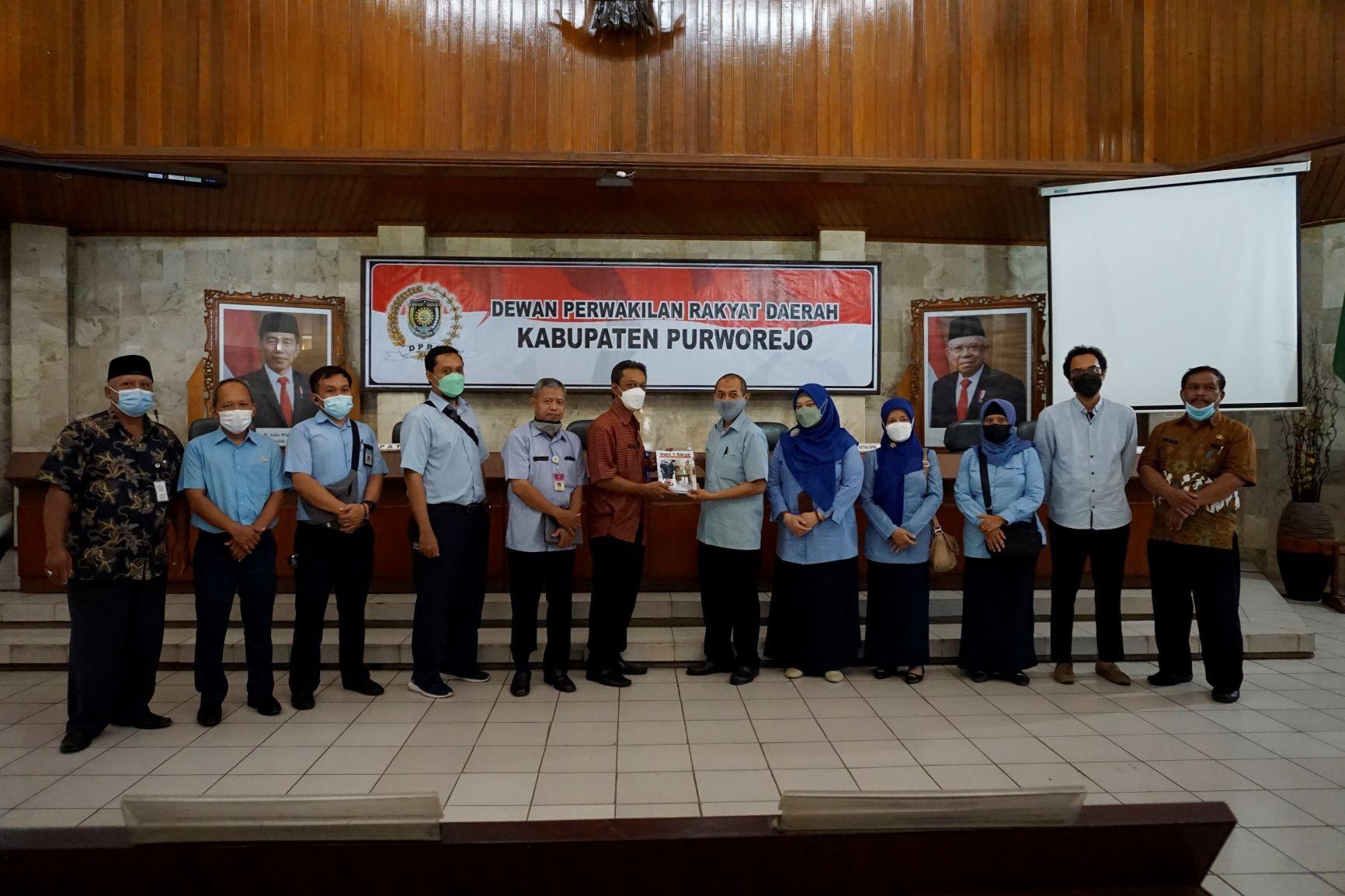 Setwan DPRD Purworejo Terima Kunjungan Kerja Setwan DPRD Kab. Bantul