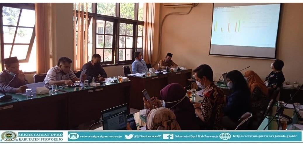 Komisi III rapat dengan Dinparbud Kab. Purworejo