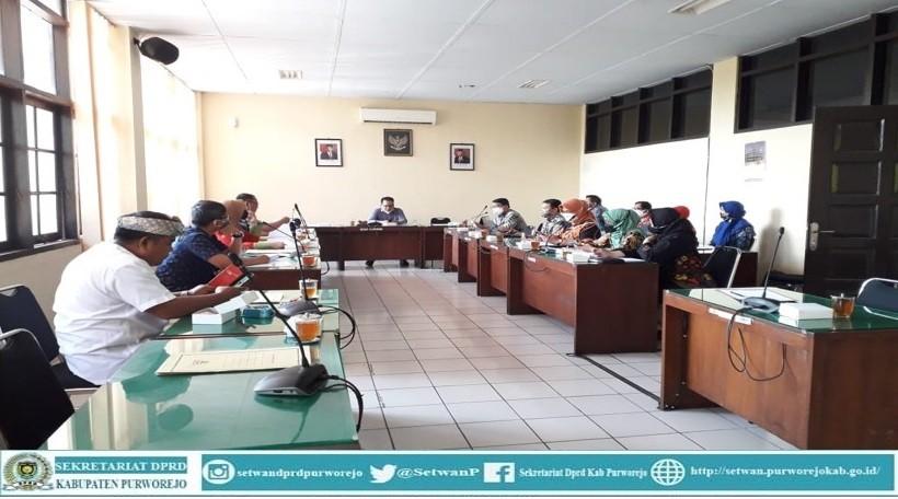 Komisi I rapat dengan Inspektorat
