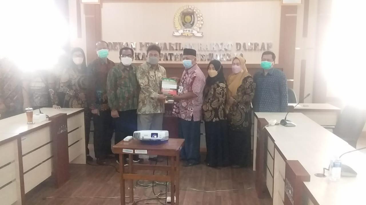 Setwan Purworejo Terima Kunjungan Kerja DPRD Kab. Kediri