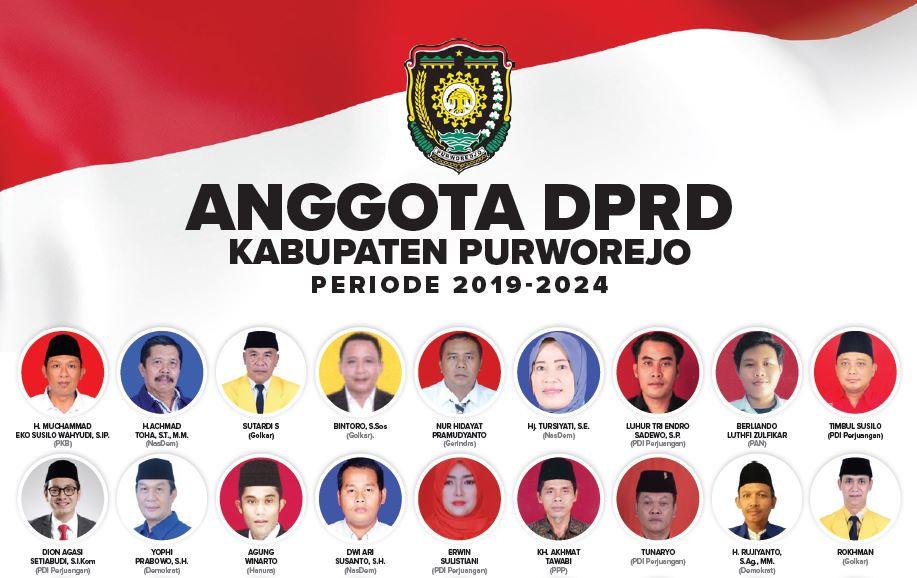 Anggota DPRD Kabupaten Purworejo 2019-2014 - (Ada 0 foto)
